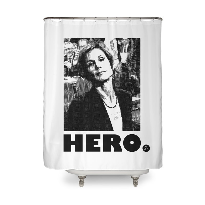 Hero Home Shower Curtain by FWMJ's Shop