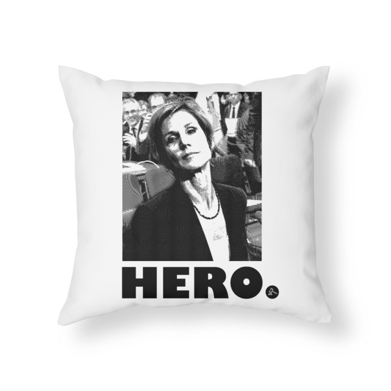 Hero Home Throw Pillow by FWMJ's Shop