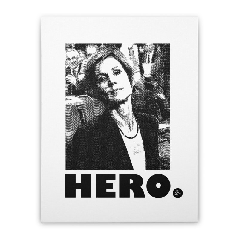 Hero Home Stretched Canvas by FWMJ's Shop
