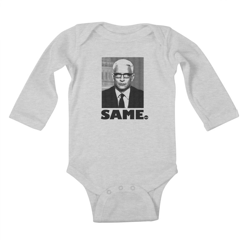 Same. -_- Kids Baby Longsleeve Bodysuit by FWMJ's Shop