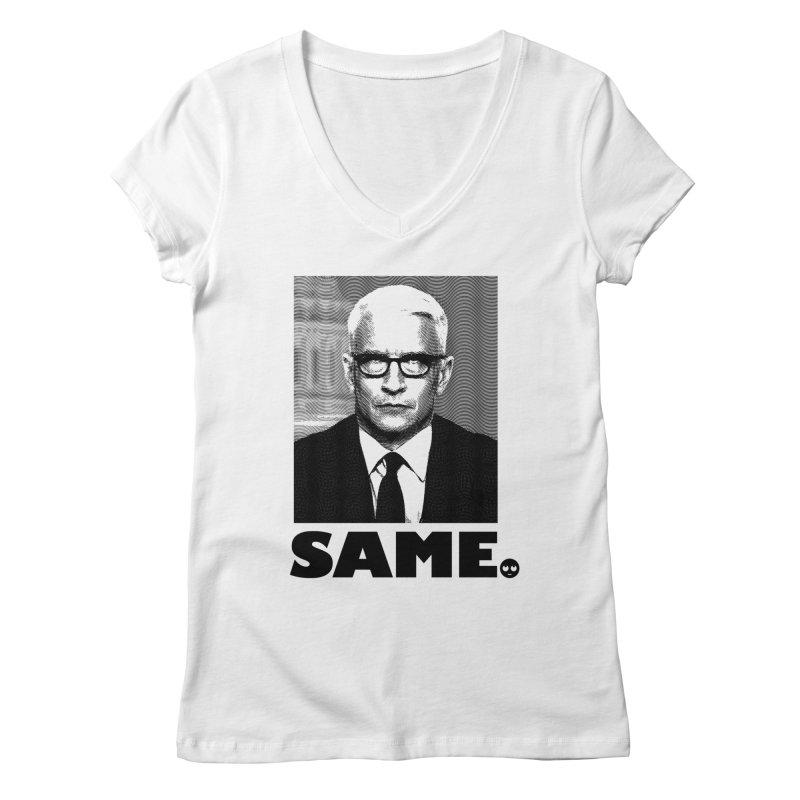 Same. -_- Women's V-Neck by FWMJ's Shop