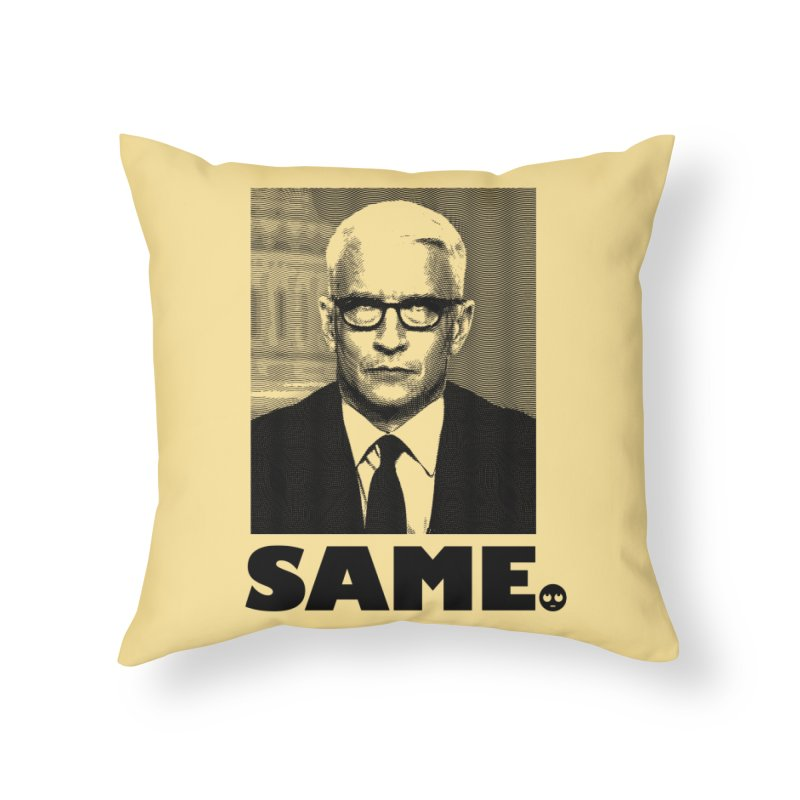 Same. -_- Home Throw Pillow by FWMJ's Shop