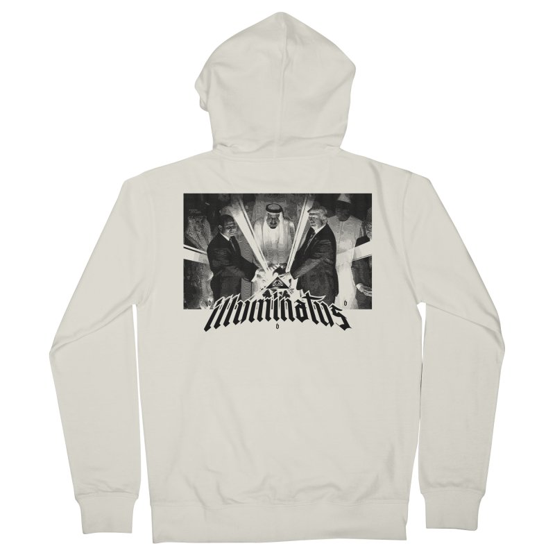 Illuminati Globalist Elite Men's French Terry Zip-Up Hoody by FWMJ's Shop