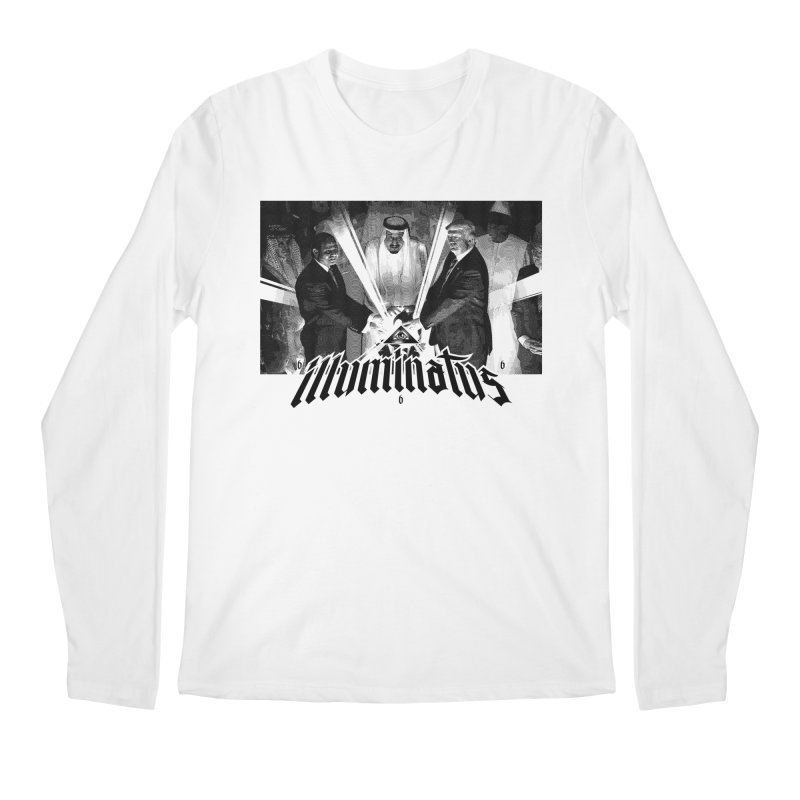 Illuminati Globalist Elite Men's Longsleeve T-Shirt by FWMJ's Shop
