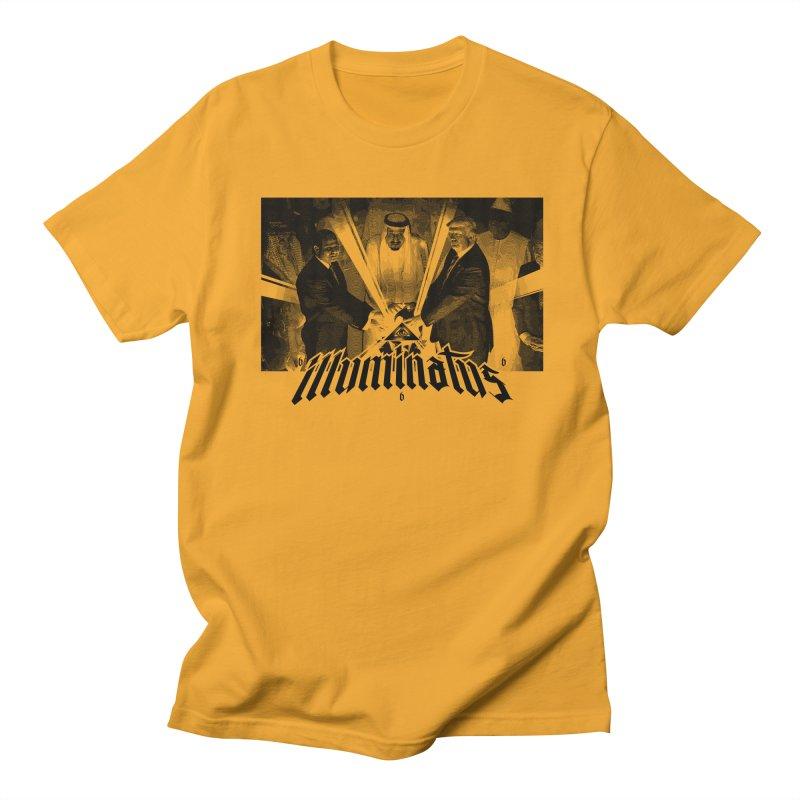 Illuminati Globalist Elite Men's T-shirt by FWMJ's Shop