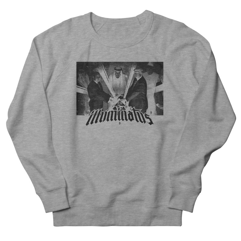 Illuminati Globalist Elite Men's French Terry Sweatshirt by FWMJ's Shop
