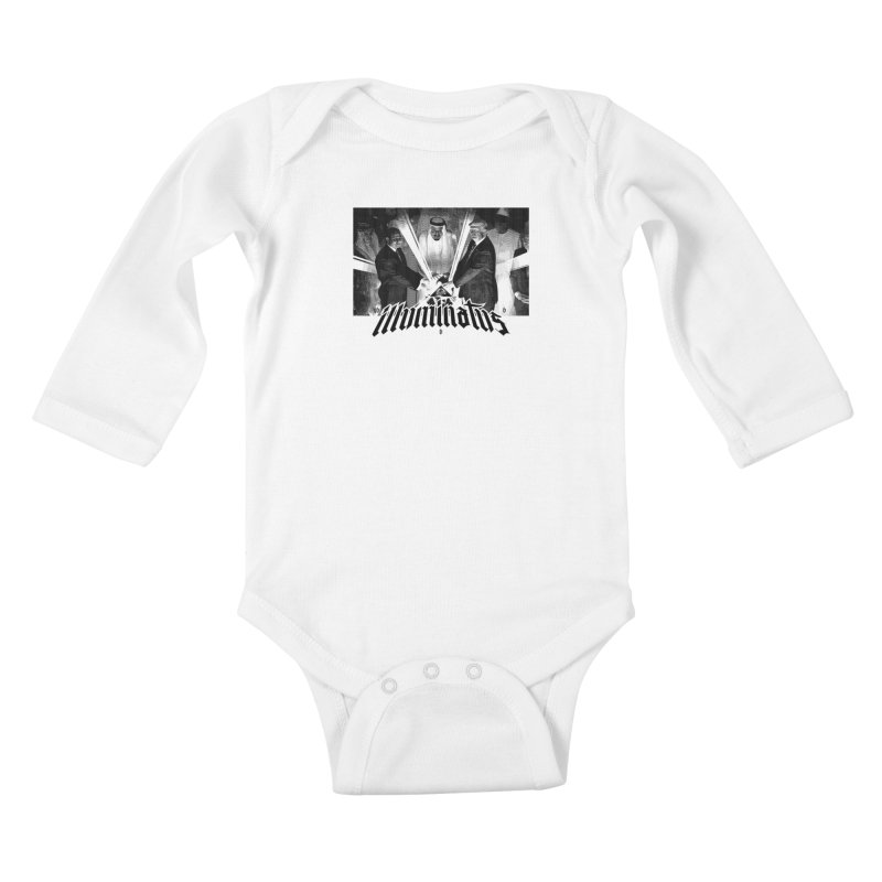 Illuminati Globalist Elite Kids Baby Longsleeve Bodysuit by FWMJ's Shop