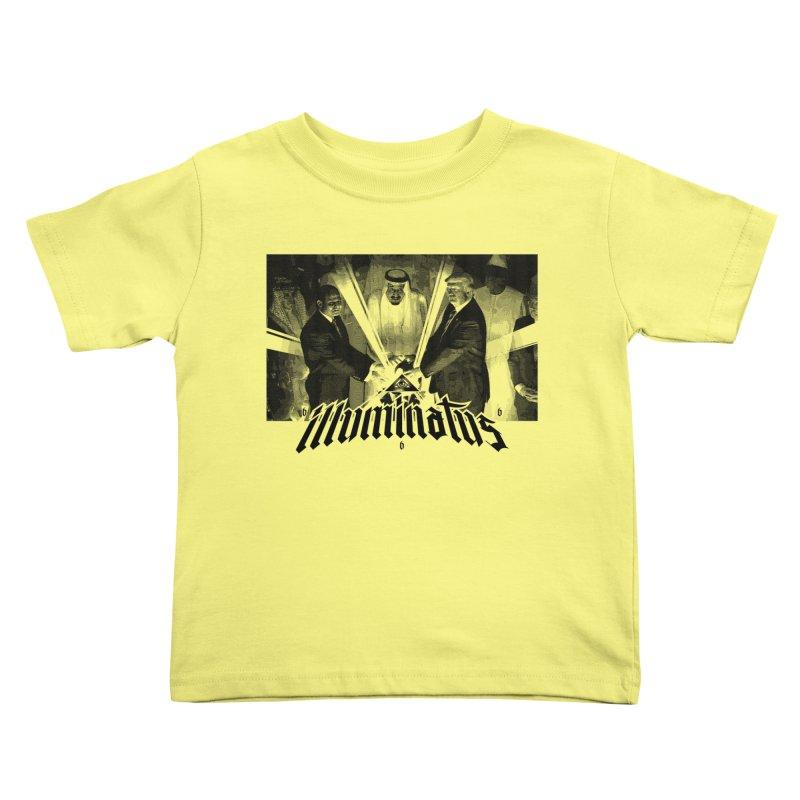 Illuminati Globalist Elite Kids Toddler T-Shirt by FWMJ's Shop