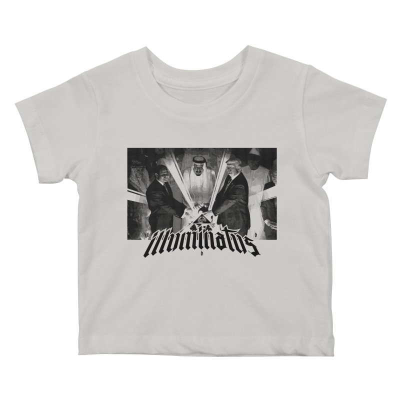 Illuminati Globalist Elite Kids Baby T-Shirt by FWMJ's Shop