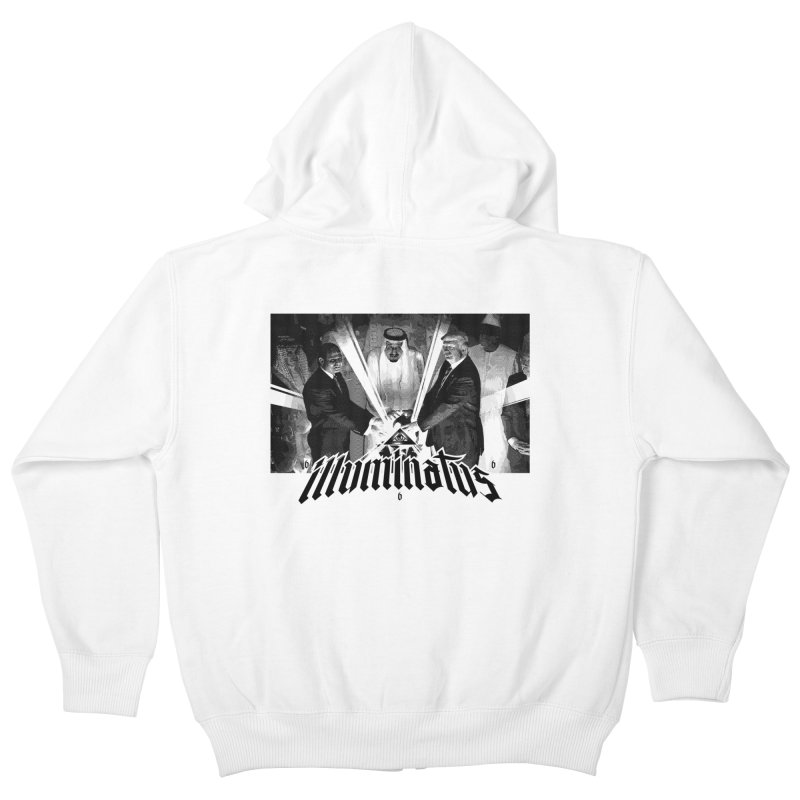 Illuminati Globalist Elite Kids Zip-Up Hoody by FWMJ's Shop