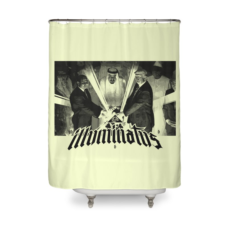 Illuminati Globalist Elite Home Shower Curtain by FWMJ's Shop