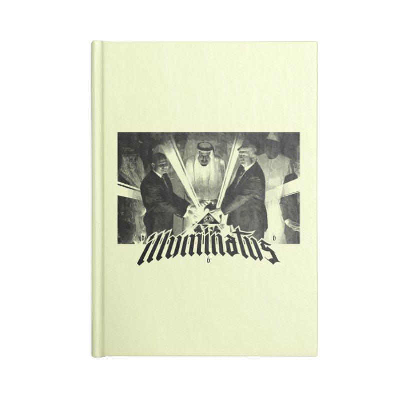 Illuminati Globalist Elite Accessories Notebook by FWMJ's Shop