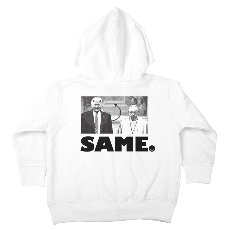 Same. (Unanswered Prayers) Kids Toddler Zip-Up Hoody by FWMJ's Shop
