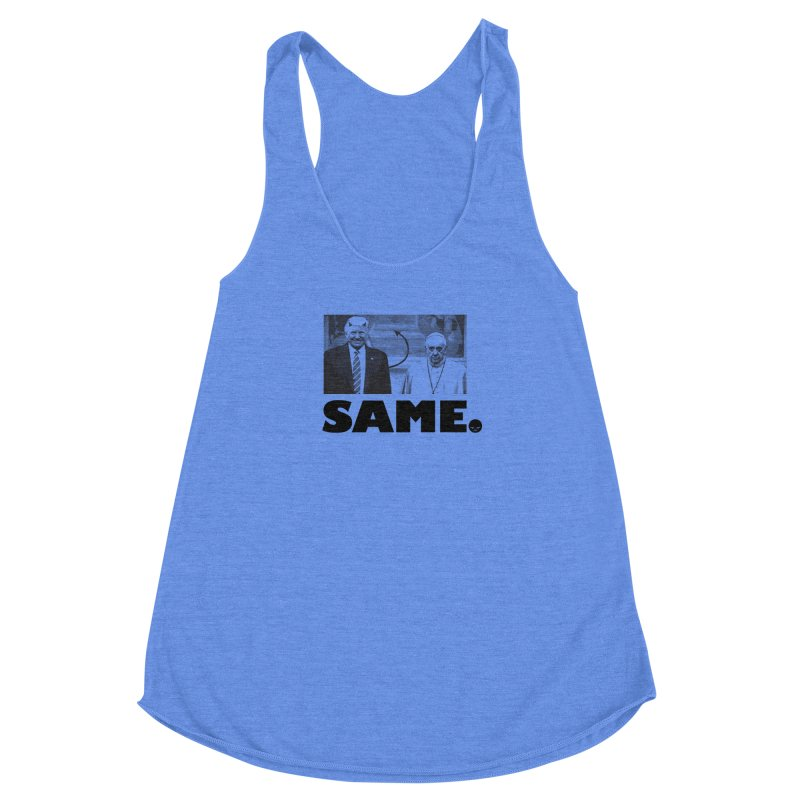 Same. (Unanswered Prayers) Women's Racerback Triblend Tank by FWMJ's Shop