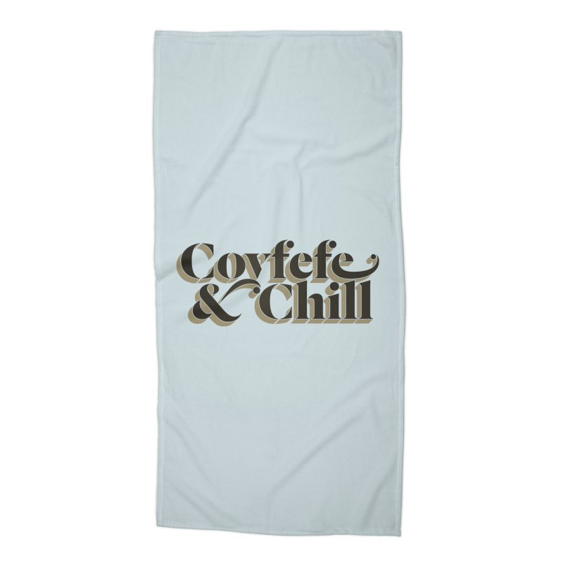 Covfefe Accessories Beach Towel by FWMJ's Shop