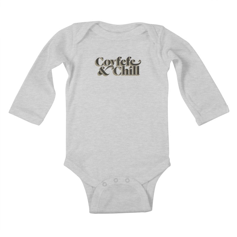 Covfefe Kids Baby Longsleeve Bodysuit by FWMJ's Shop
