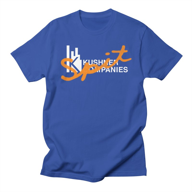 Kush Spit in Men's T-shirt Royal Blue by FWMJ's Shop