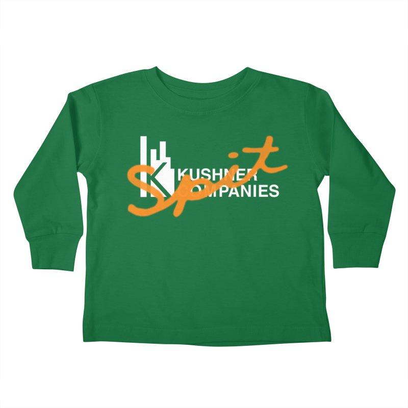 Kush Spit Kids Toddler Longsleeve T-Shirt by FWMJ's Shop