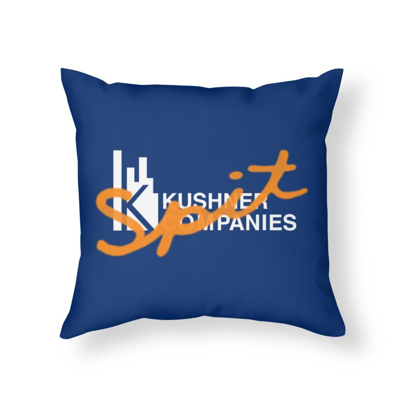 Kush Spit Home Throw Pillow by FWMJ's Shop
