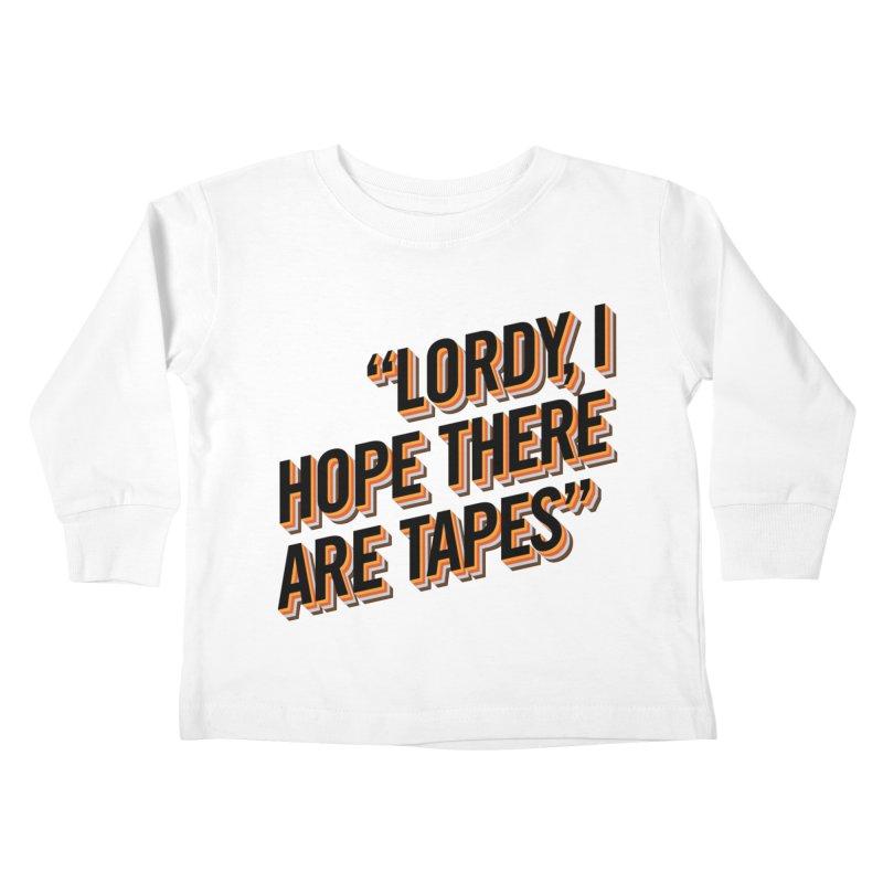 Lawdamercy Kids Toddler Longsleeve T-Shirt by FWMJ's Shop