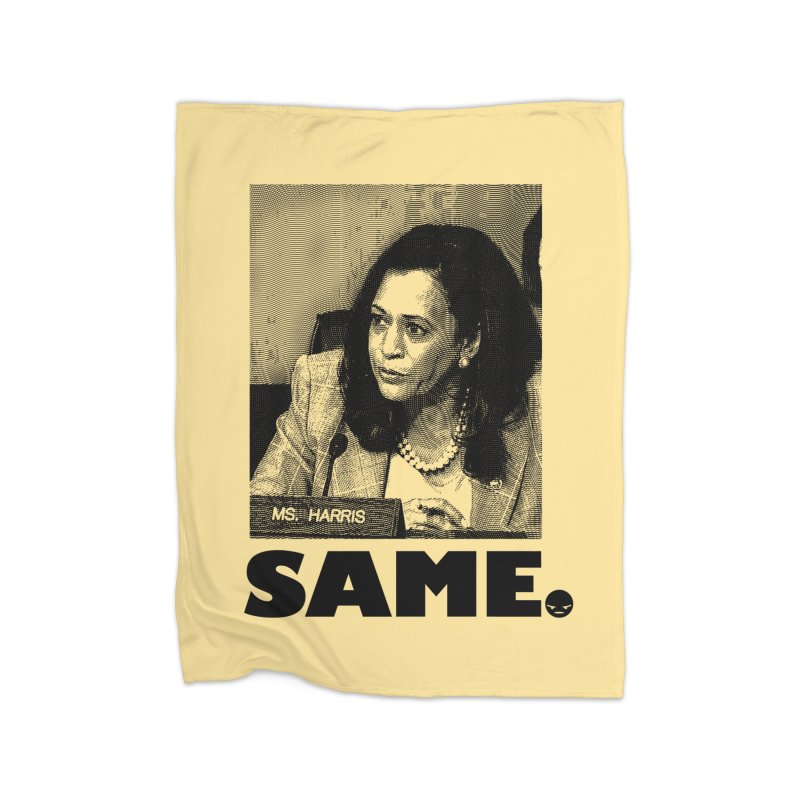 SAME. (Kamala) Home Blanket by FWMJ's Shop