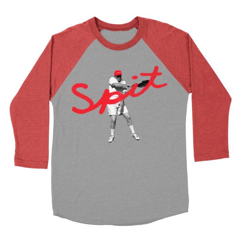 Racket Spit Women's Baseball Triblend Longsleeve T-Shirt by FWMJ's Shop