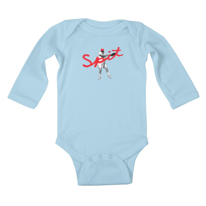 Racket Spit Kids Baby Longsleeve Bodysuit by FWMJ's Shop