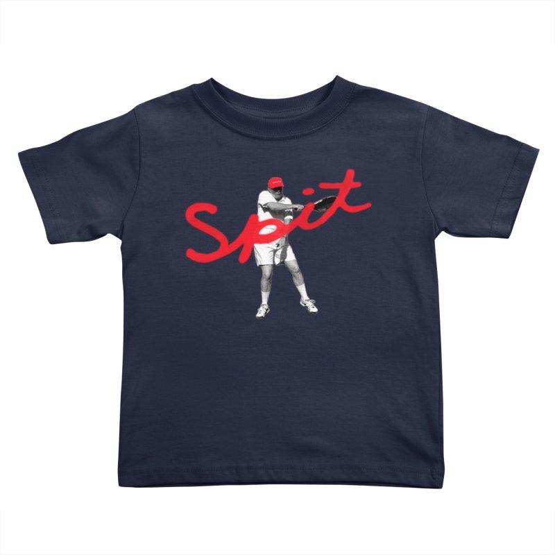Racket Spit Kids Toddler T-Shirt by FWMJ's Shop