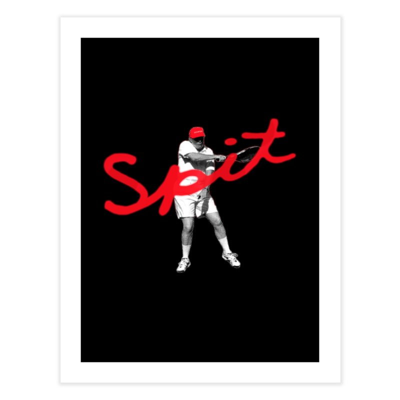 Racket Spit Home Fine Art Print by FWMJ's Shop