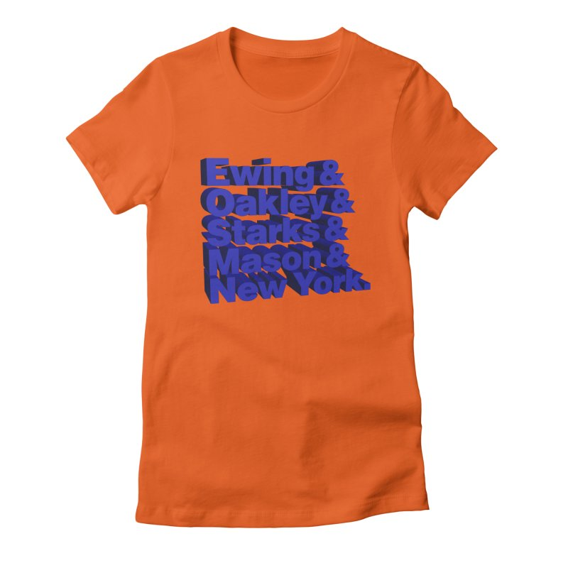 '93-'94 #KnicksTape Women's Fitted T-Shirt by FWMJ's Shop