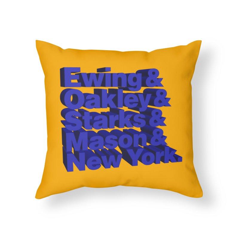 '93-'94 #KnicksTape Home Throw Pillow by FWMJ's Shop