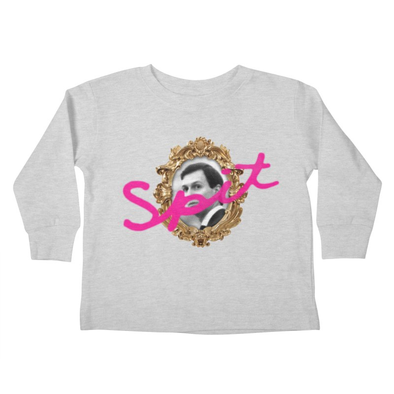 Jared Spit Kids Toddler Longsleeve T-Shirt by FWMJ's Shop