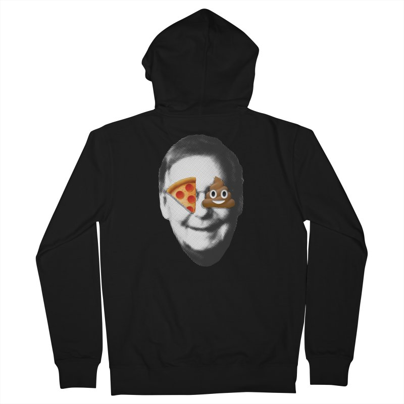 Issa Pizza Men's French Terry Zip-Up Hoody by FWMJ's Shop