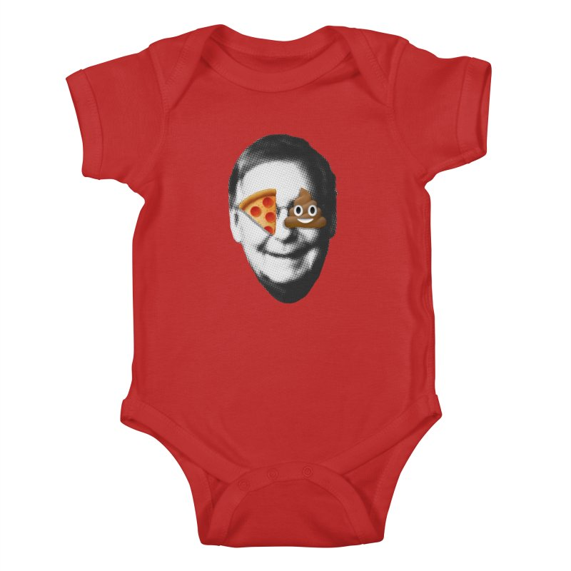Issa Pizza Kids Baby Bodysuit by FWMJ's Shop