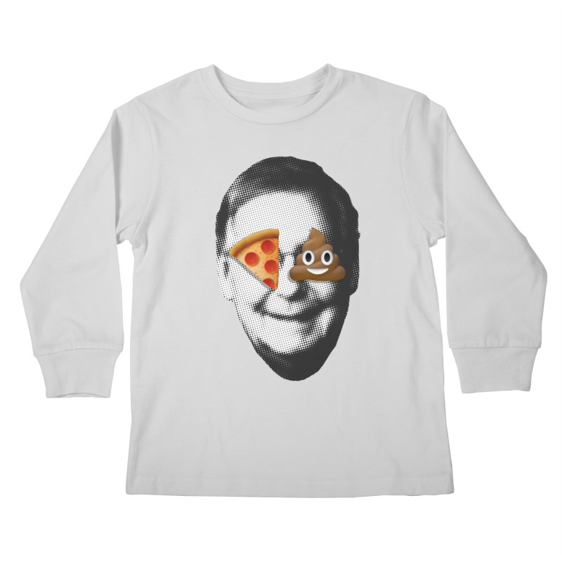 Issa Pizza Kids Longsleeve T-Shirt by FWMJ's Shop
