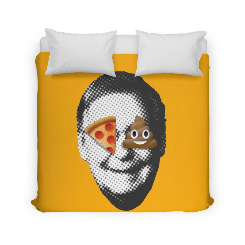 Issa Pizza Home Duvet by FWMJ's Shop