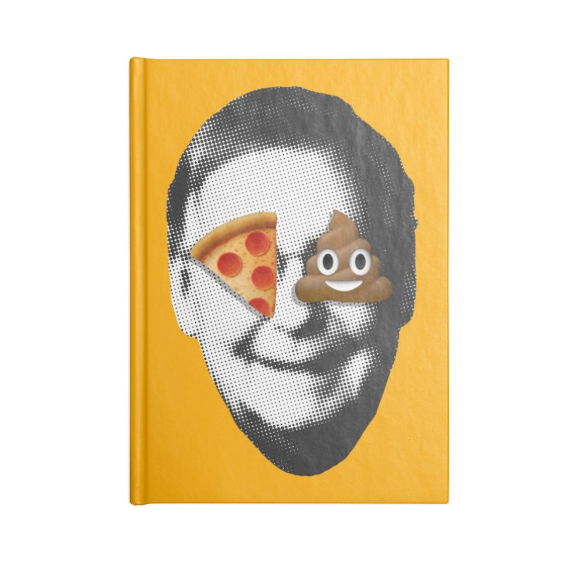 Issa Pizza Accessories Notebook by FWMJ's Shop