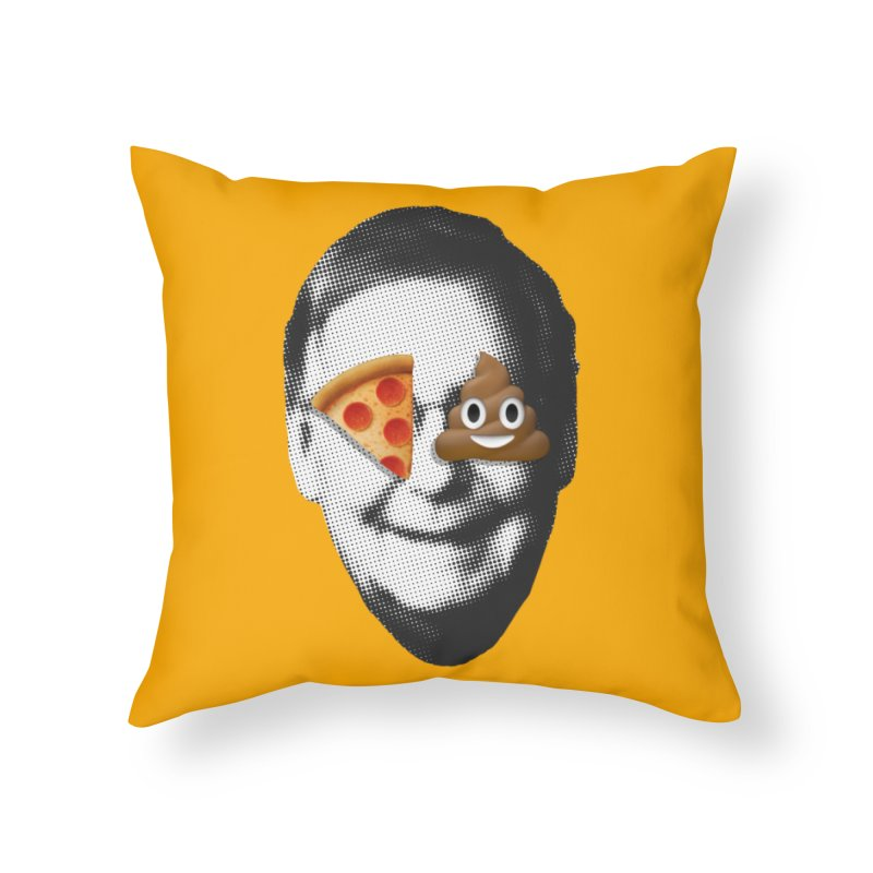 Issa Pizza Home Throw Pillow by FWMJ's Shop