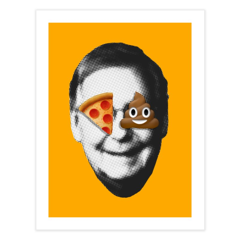 Issa Pizza Home Fine Art Print by FWMJ's Shop