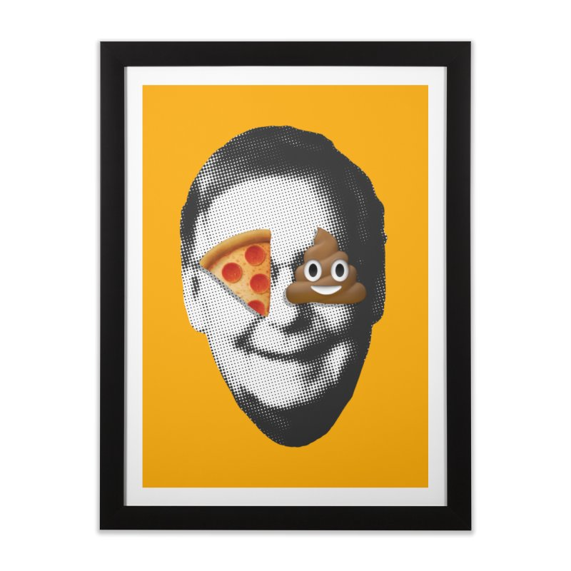 Issa Pizza Home Framed Fine Art Print by FWMJ's Shop