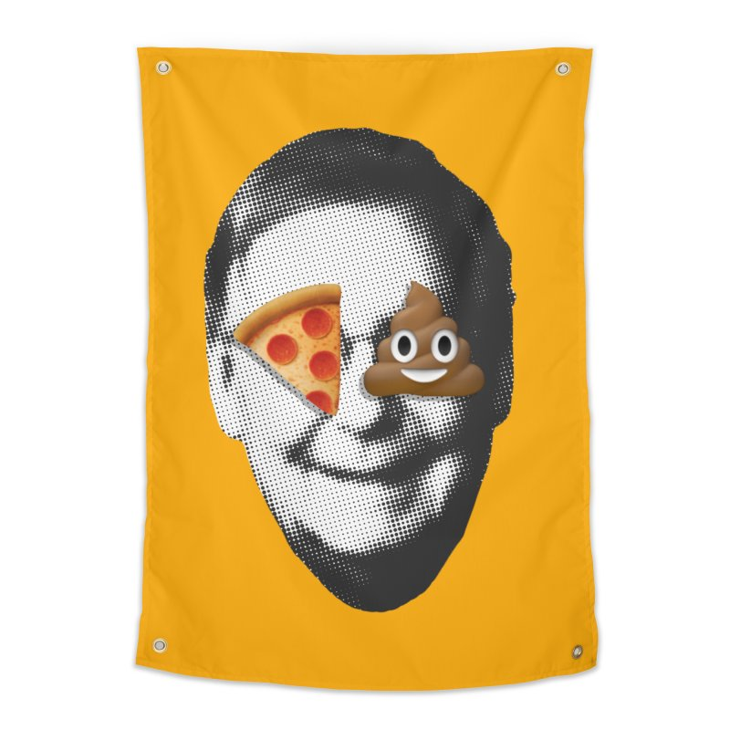 Issa Pizza Home Tapestry by FWMJ's Shop
