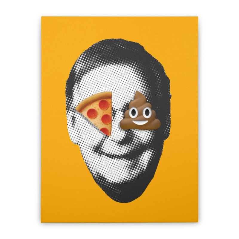Issa Pizza Home Stretched Canvas by FWMJ's Shop