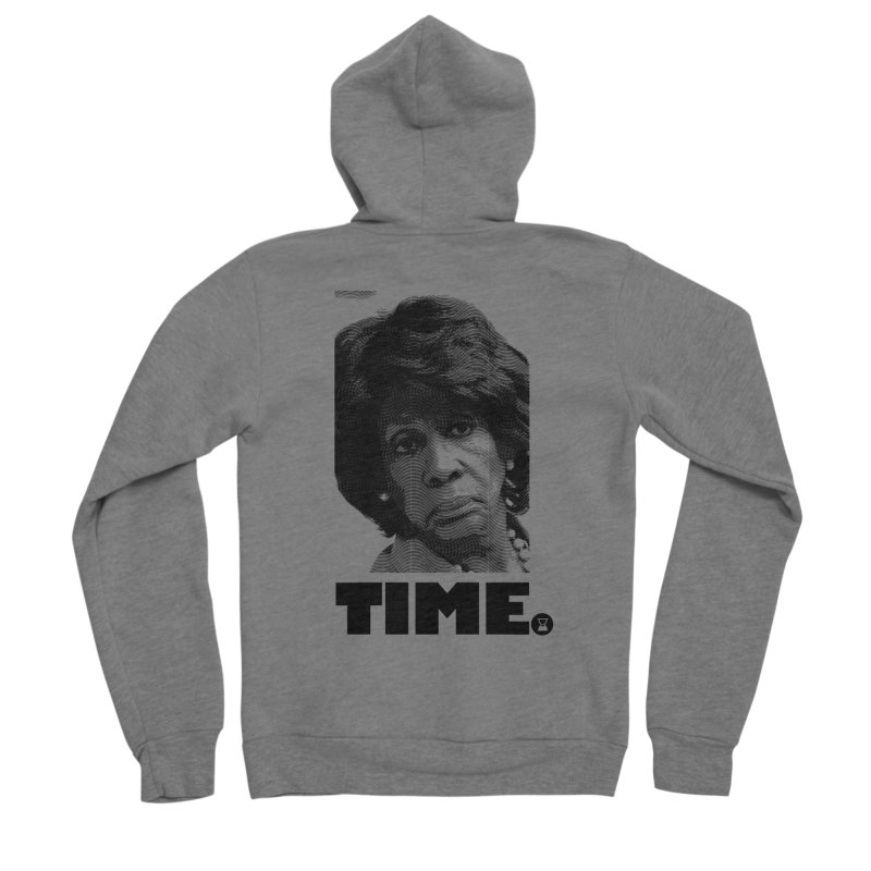 TIME. Women's Sponge Fleece Zip-Up Hoody by FWMJ's Shop