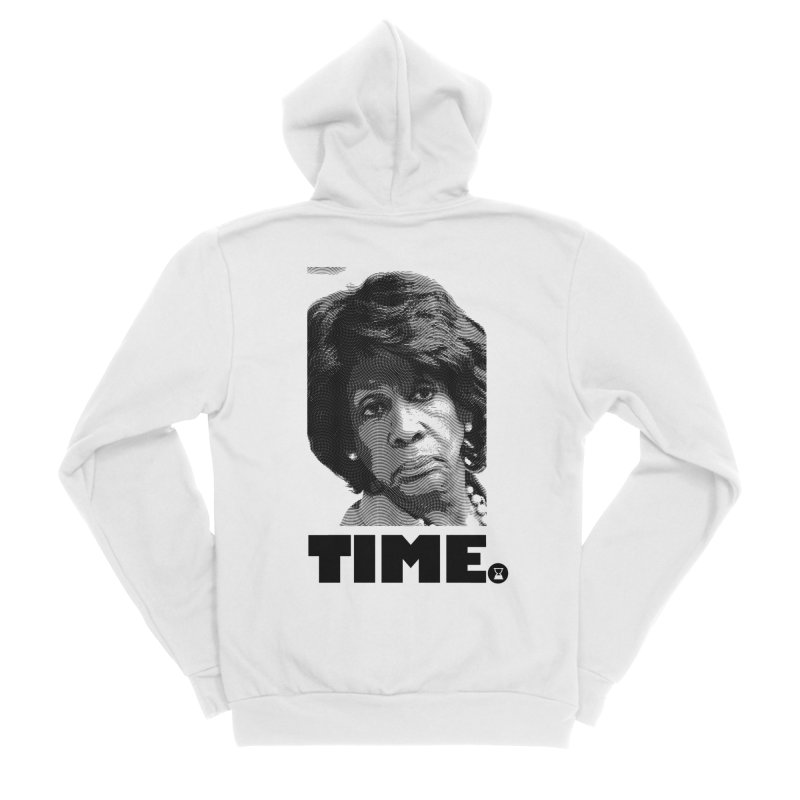 TIME. Women's Sponge Fleece Zip-Up Hoody by FWMJ's Shop