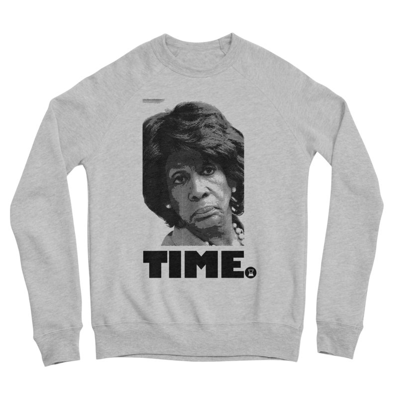 TIME. Women's Sponge Fleece Sweatshirt by FWMJ's Shop