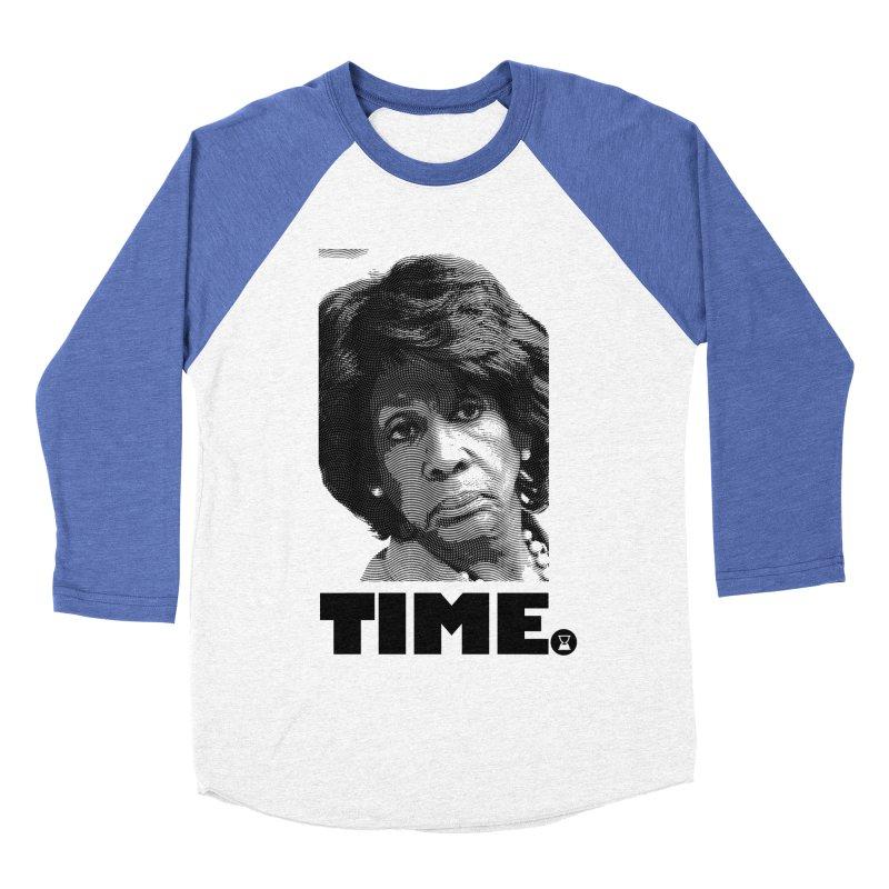 TIME. Women's Baseball Triblend T-Shirt by FWMJ's Shop