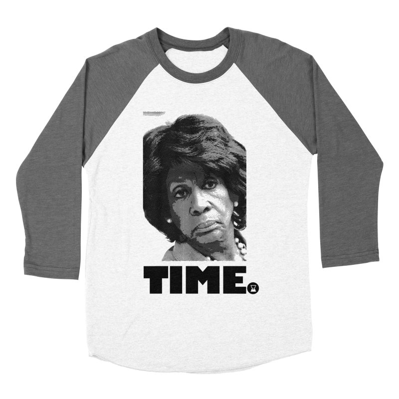 TIME. Women's Baseball Triblend Longsleeve T-Shirt by FWMJ's Shop