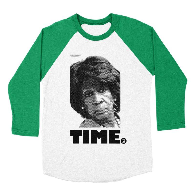 TIME. Men's Baseball Triblend T-Shirt by FWMJ's Shop