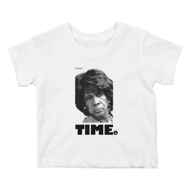 TIME. Kids Baby T-Shirt by FWMJ's Shop