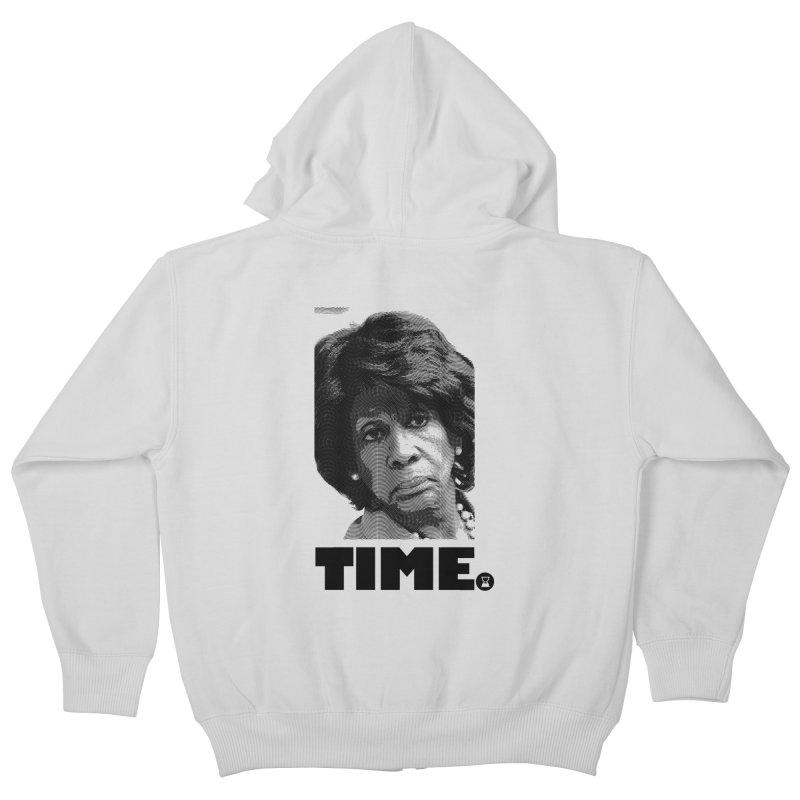 TIME. Kids Zip-Up Hoody by FWMJ's Shop